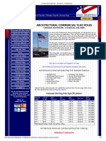 Commerical Flag Poles - Aluminum - Architectural