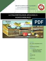 Paleontología Aplicada a Hidrocarburos