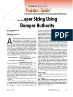 Damper Sizing Authority