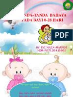 Ppt Tanda-tanda Bahaya Pada Bayi 0-28 Hari