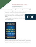 Resumen de Inteligencia Emocional