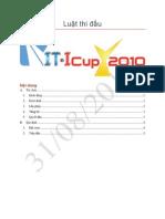 Luật thi đấu ITICup 2010 - 31082010