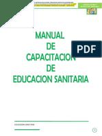 Manual de Capacitacion Educacion Sanitaria