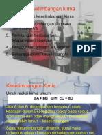 (8) kesetimbangan kimia