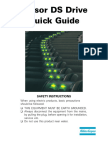 Tensor DS Drive Quick Guide UK