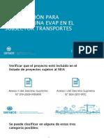 Presentacion Planificacion Para Elaborar EVAP TRANSPORTES
