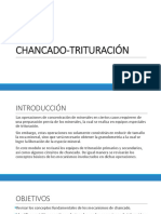 CHANCADO-TRITURACIÓN