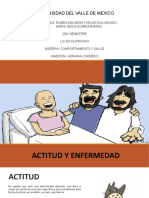 Actitud y Enfermedad