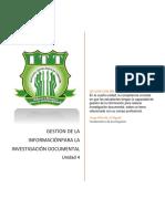 Estructura de La Investigación Documental