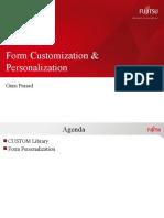 Form Customization & Personalization