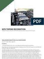 Bmw Engine TopEnd_Refurbish