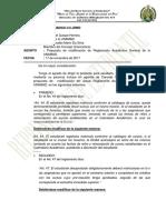 Propuesta de modificación de Reglamento Académico General de la UNAMAD