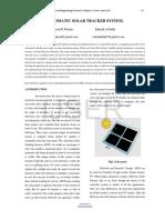 Automatic Solar Tracker System Copy