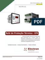 Manual - Relé Térmico EP4