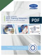 Carrier Training Materials Catalog