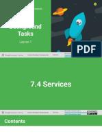 7.4 Services