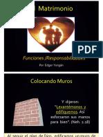 FUNCIONES MATRIMONIOS-2014