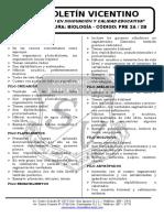Boletín Biología 24 Pre 2a-2b Reino Animalia i
