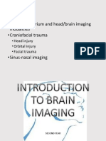 Intro and Cranial Trauma