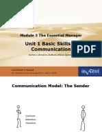 K 1 Basic Communication