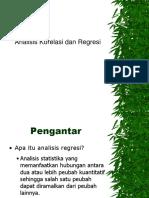 Statistik dan Probabilitas _ Korelasi Regresi