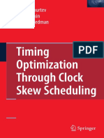 Timing Optimization Through Clock Skew Scheduling_Ivan S.kourtev,Baris Taskin,Eby G. Friedman