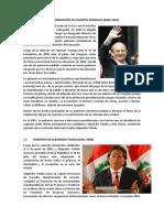 Gobiernos de Paniagua y Toledo