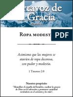 Portavoz de la gracia No. 22 - Ropa modestia.pdf