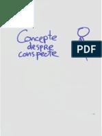 Concepte despre conspecte