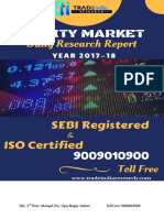 Daily Equity Cash Report for-22!12!2017 by Tradeindia Research