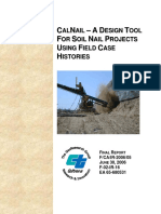 Calnail Design Tool Using Histories