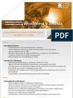 Temario Joomla Wordpress