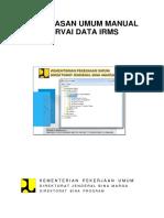 Penjelasan Umum Manual Survai Data Irms