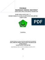 Pedoman & Portofolio Lomba RA Madrasah Unggul Dan Sehat 2017