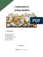 Contenedores Biodegradables Enviar
