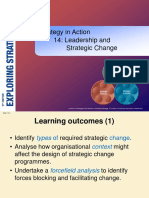 Leadership & Strategic Change Yona