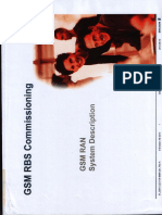 GSM RBS Commissioning GSM RAN Description