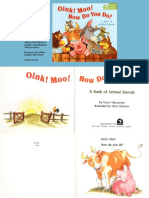 Oink! Moo! How Do You Do by Hans Wilhelm