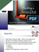 Building a Service Desk