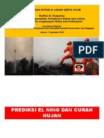 PDF - Siti Nissa Mardiah Ministry of Environment and Forestry Disaster El Nino - Kebakaran Hutan Dan Lahan Serta Iklim 7 Sept 2015 Bahasa