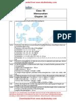 NCERT Solutions Class 6 Mathematics Mensuration