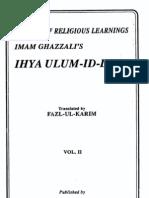 Ihya Uloomudin Vol 2 - Al Ghazali