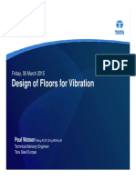 TSE - Design of Floors for Vibration