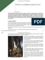 Le Sphinx Et La Chambre Secrète de Thot - Guillaume Delaage[1]