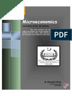 Microeconomics Notes by DR Idrees QAU Islamabad