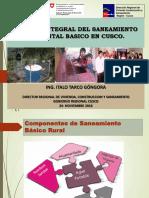 Situacion y Gestion Integral Del Saneamiento Ambiental Basico Rural Cusco