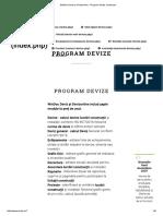 WinDoc Deviz Si Devizonline - Program Devize Constructii