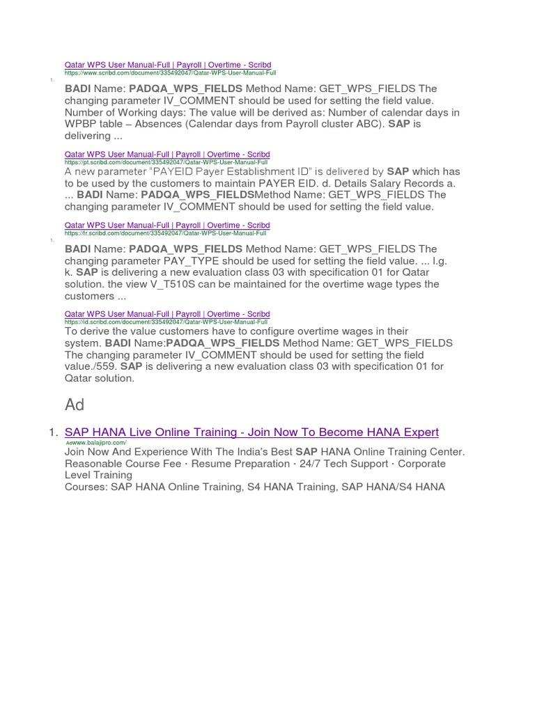 qatar wps user manual