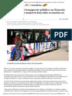El Problema Del Transporte Público en Francia_ Más de 220.000 Mujeres Han Sido Acosadas en Solo Dos Años - ElEconomista