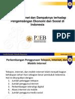 Mobile Internet dan Dampaknya terhadap Pengembangan Ekonomi dan Sosial di Indonesia UGM
